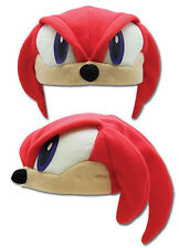 Great Eastern Sonic The Hedgehog Series Knuckles Fleece Cap