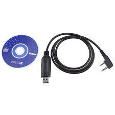 USB Programming Cable for Baofeng UV-5R UV-3R+ Two way Radio With Driver CD