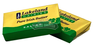 Pure Irish Butter Portions- Lakeland -Individually Foil Wrapped - 1st Class Post