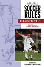 Official Soccer Rules Illustrated by Lover, Stanley
