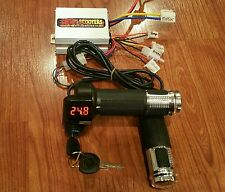 Razor E300 E325 Variable Speed Kit No More On Off ! Control The Speed!