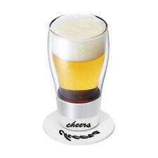 Po 'Cheers' Anamorphic Glass Gift Idea - New in Box