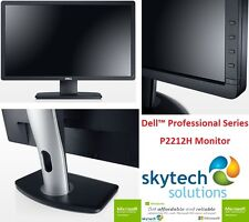 "DELL PROFESSIONAL P2212H 22"" Monitor widescreen a Buon Mercato PC LCD LED 16:10 1920x1080"