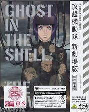 New Ghost in the Shell The Movie Limited Edition 2 Blu-ray Booklet Japan English