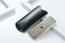 Small Mini Card Luxury Metal Body Dual Sim GSM Senior Unlocked Mobile Phone V03
