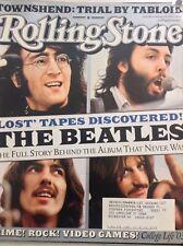 Rolling Stone Magazine The Beatles John Lennon February 20, 2003 061018nonrh