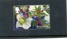 Isle of Man-Sepac-2014-New issue mnh one value-Flowers