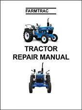 Farmtrac 50 55 Amp 60 Farm Tractor Service Repair Manual