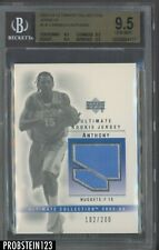2003-04 Ultimate Collection Carmelo Anthony RC Rookie Jersey 102/200 BGS 9.5