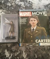 """Agent """"Peggy"""" Carter. Issue33-Eaglemoss Marvel MOVIE Collection. Figure&Magazine"""