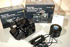 BM URSA Mini Pro 4.6K  Camcorder,   grosses Zubehörpaket  EF Mount und auch PL