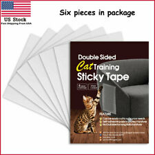 6Pcs Pet Cat Scratch Guard Sticky Paws Stop Destroying Furniture Anti Scratch