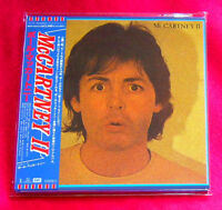 Paul McCartney ‎McCartney II MINI LP CD JAPAN TOCP-65512