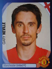 Panini 235 Gary Neville Manchester United UEFA CL 2007/08