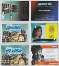 DOCTOR WHO SELECTION OF RARE PROMOTIONAL CARDS SUPERB