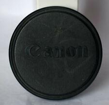 Canon 45mm push on front lens cap.