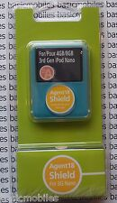 Agent18 Transparent Clear iPod Nano 3G 3rd Protective Hard Case & Dock 4GB/8GB