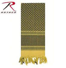 Shemagh Scarf Military field scarf color Sand (Yellow) and Black