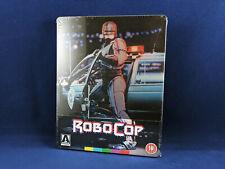 ROBOCOP Steelbook Director Cut Bluray 4K Remastered Paul Verhoeven Peter Weller