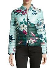 Moncler Heudelet Floral Print Puffer Jacket Lightweight Size 1