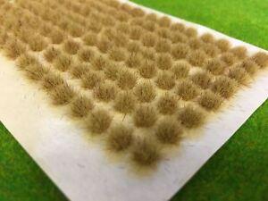 Std Muddy Dead Static Grass Tufts 4mm -Model Scenery Dry Railway Wargames Brown