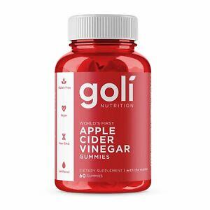 Goli Nutrition Apple Cider Vinegar 60 Gummies