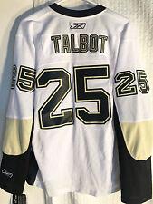 Reebok Women's Premier NHL Jersey Pittsburgh Penguins Talbot White sz XL