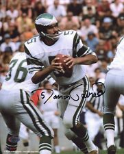 Roman Gabriel Autographed 8x10 Philadelphia Eagle Throwing