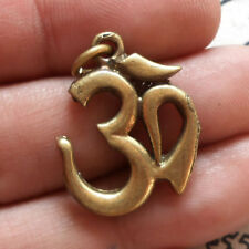 OM, Sigh Symbol Ganesha Thai Hindu Amulet Pendant Powerful Magic Talismans Lucky