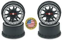 Pro-Line Impulse Pro-Loc Wheels (Black w/Stone Gray Rings) (4)Traxxas X-MAXX