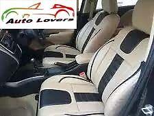 ★Premium Car Seat Cover Luxury Range of PU Leather Maruti Alto 800-Beige★SC1