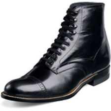 Stacy Adams Madison Mens Size 13 Black Wide Leather Casual BOOTS