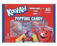 KOOL AID POPPING CANDY 40 Ct Bag New!