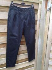 Hobbs Cotton black Ladies trousers size 8
