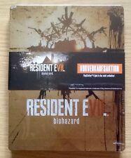 Resident EVIL BIOHAZARD limitata da collezione G2 PS4 XBOX ONE SIZE Steelbook Nuovo