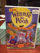 Winnie the Pooh - Frankenpooh and Spookable Pooh (DVD, 2002) Mfg. Sealed