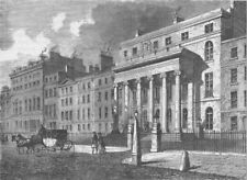 LINCOLN'S INN FIELDS. Hall of the Royal College of Surgeons. London c1880