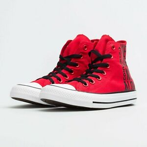 """CONVERSE CHUCK TAYLOR ALL STAR HI Rot """"WE ARE NOT ALONE"""" 165467C 40 41 42 43 44"""