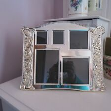 Silver plate multi picture photo frame antique STYLE