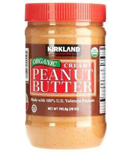 Kirkland Signature Organic Peanut Butter 28 oz - exp 12/2021