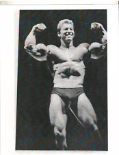 bodybuilder LARRY SCOTT Bulging Bicep Pose Bodybuilding  Muscle Photo B&W #1