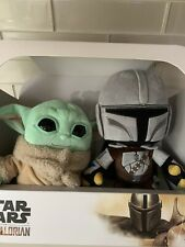 "Star Wars - The Child /Baby Yoda & The Child Mandalorian 11"" Plush 2 pack Disney"