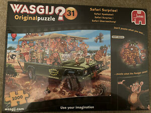 Wasgij  Original 31 Puzzle. Safari Surprise!1000 Piece Jigsaw