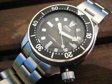 Rare Vintage Men SEIKO Diver's 150M Scuba Submariner Automatic Wrist Watch JAPAN