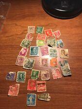 vintage postage stamp collection