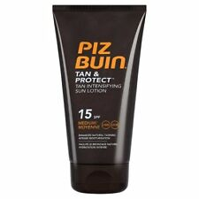 Piz Buin Tan Protect Tan Intensifying Lotion SPF 15 Medium 150ml