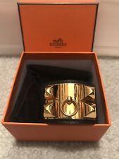 hermes collier de chien bracelet Small Noir Preowned