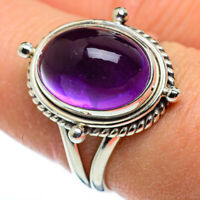 Amethyst 925 Sterling Silver Ring Size 7.75 Ana Co Jewelry R48471F