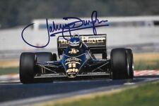 Johnny Dumfries SIGNED  JPS Lotus 98T  , 1986 Grand Prix  Season