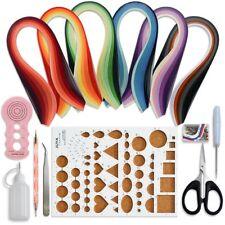 kit con 30 colori 600 strisce e 8 Strumenti rosa, larghezza carta 3 mm